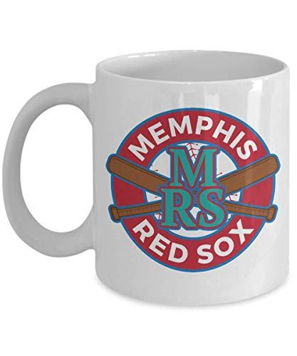 N\A Memphis Red Sox Taza de café Retro Negro League Baseball Souvenir Taza Blanca Personalizada Regalo