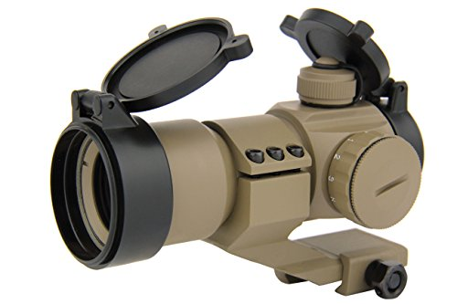 TacFire 1x30mm Tactical Red/Green Dot Rifle Scope Sight with...