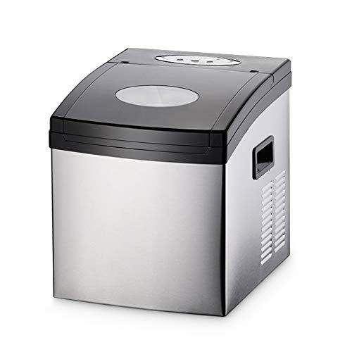 Ice Makers YX Eismaschine, gewerblicher Milchtee-Laden Automatische kleine Eismaschine, 15 Minuten schnelle Eismaschine, EIS kann 25 kg pro Tag hergestellt Werden, ohne DASS Wasserleitungen benötigt