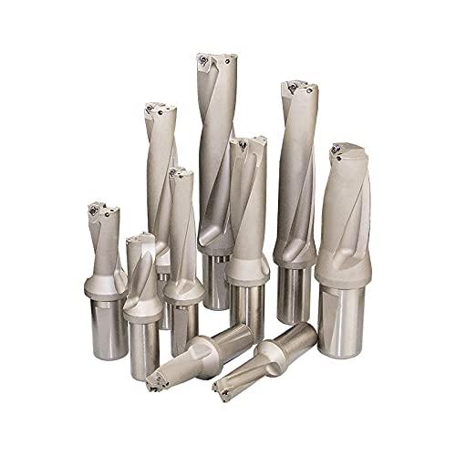 U Drill C20-4D15-63WC03 C25-4D20-83WC03 Profundidad 4D, taladro rápido, broca intercambiable, para cada marca WC Series Blade, maquinaria, tornos, CNC-C25-4D19.5-81WC03