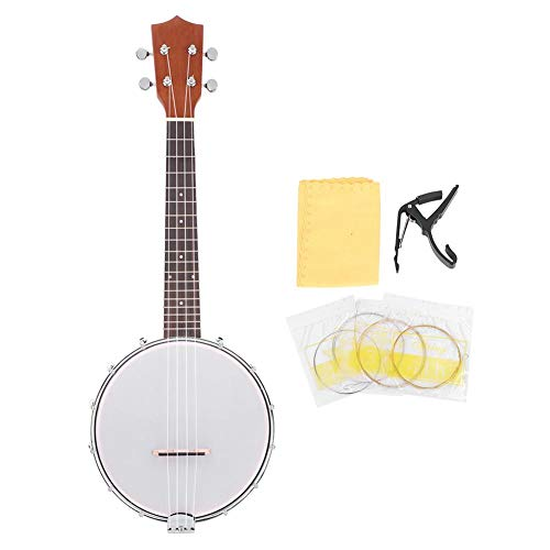 Kit pratici per principianti di strumenti musicali banjo multifunzionali a 4 corde per gli amanti della musica