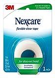 Nexcare - Cinta de primeros auxilios, flexible, transparente, 1 rollo...