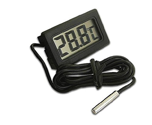 Digital New York Mall Columbus Mall LCD Probe Fridge Freezer Thermometer for Ref Thermograph