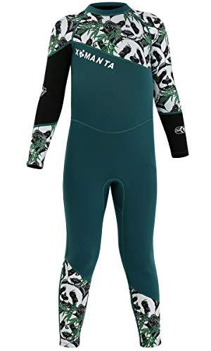 FAIRYRAIN Baby Kleinkind Jungen Mädchen Einteiler Neoprenanzug 2.5MM Lang Wetsuit Schwimmanzug Sonnenschutz für Wassersport Diving Suit S