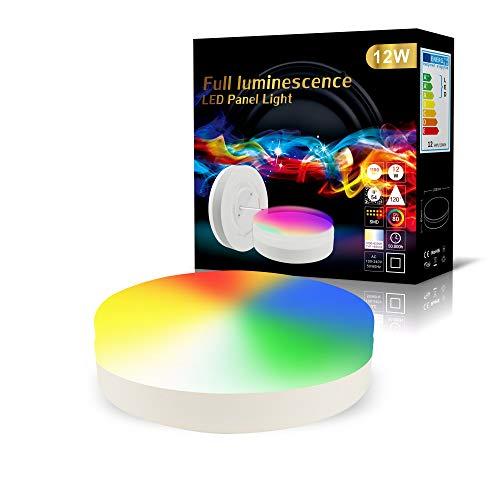 M2OUTLET LED Deckenleuchte SMART 12W Ø23 IP44 RGBCCT Alexa, Google Home kompatibel