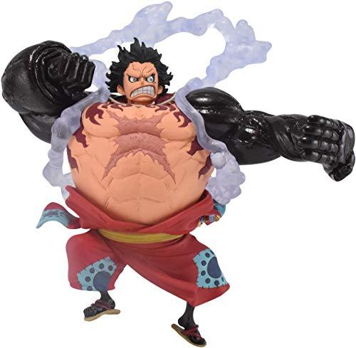 Banpresto One Piece - Monkey D. Luffy Gear4 - Figure King of Artist 13cm