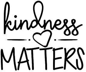 Legacy Innovations LLI Kindness Matters Decal Vinyl Sticker Cars Trucks Vans Walls Laptop Black product image