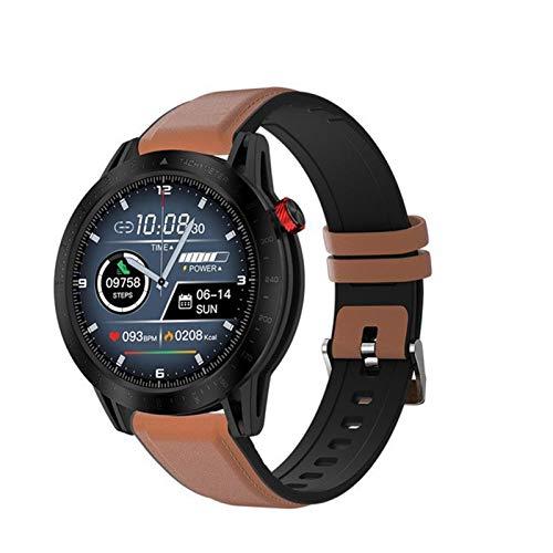 LJMG Reloj Inteligente, Reloj Deportivo para Hombres FT03, Natación, Ritmo Cardíaco, Monitoreo del Sueño, Reloj De Alarma A Prueba De Agua VSL13 Reloj para iOS Android,A