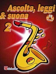 OLDENKAMP - Ascolta, leggi & suona 2 + CD (Sax Contralto)
