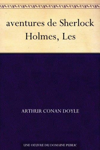 Couverture du livre aventures de Sherlock Holmes, Les