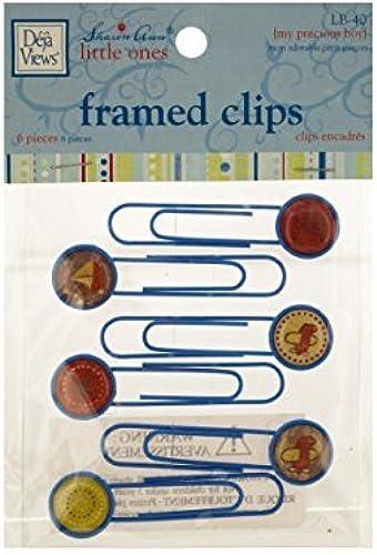 Bulk Buys CG703-72 My Precious Boy Framed Craft Clips by bulk buys