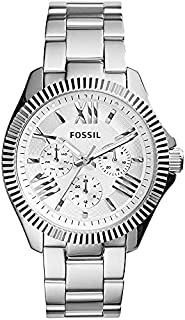 Fossil Cecile Multifunction for Women - Analog Dress Stainless Steel Band Watch - AM4568P