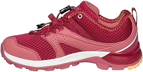 VAUDE Kids Kobuk, Chaussures de Randonnée Basses, Rouge (Red Cluster), 35 EU