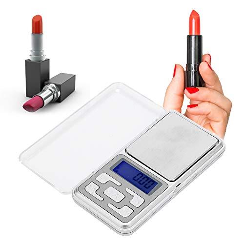 Mini balanza de peso portátil de precisión de 0,01 g, para pintalabios, joyas, pastillas, hierbas