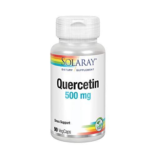 Solaray Quercetin 500mg, Quercetina, 90 VegCaps thumbnail
