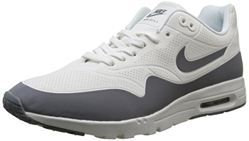 Nike Damen Wmns Air Max 1 Ultra Moire Turnschuhe, Blanco (Smmt Wht / Cl Gry-Mtllc Slvr-Whi), 37.5
