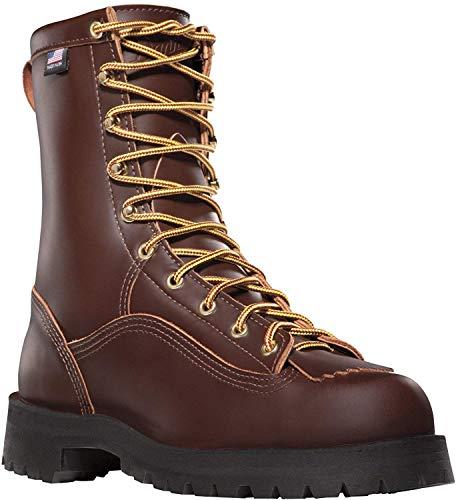 Danner Men's Rain Forest Uninsulated Work Boot,Brown,11 D US