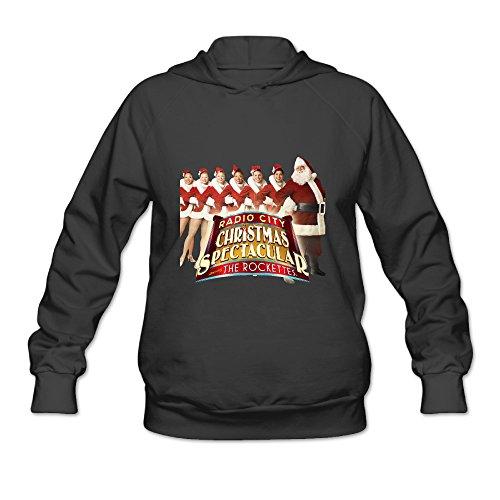 Fashion Hot Show Christmas Spectacular Rockettes 2016 Hooded Sweatshirt For Women
