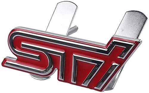 ZFXNB Neues 3D Metall Sti Frontgrill Aufkleber Emblem Abzeichen Für Subaru Legacy Förster Outback Impreza Outback WRX, A.