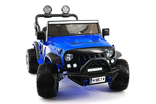 2021 12 Volt Explorer Truck Battery Powered Led Wheels 2 Seater Children Ride On Toy Car for Kids Leather Seat MP3 Music Player with FM Radio Bluetooth R/C Parental Remote