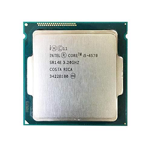 Intel Core i5-4570 Processor 3.2GHz 6MB LGA 1150 CPU44; OEM (Renewed)