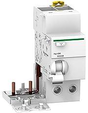 Schneider Electric A9V15263 VIGI iC60 Bloque Diferencial, Clase AC, 2P, 63A, 300mA, 73.5mm x 72mm x 91mm