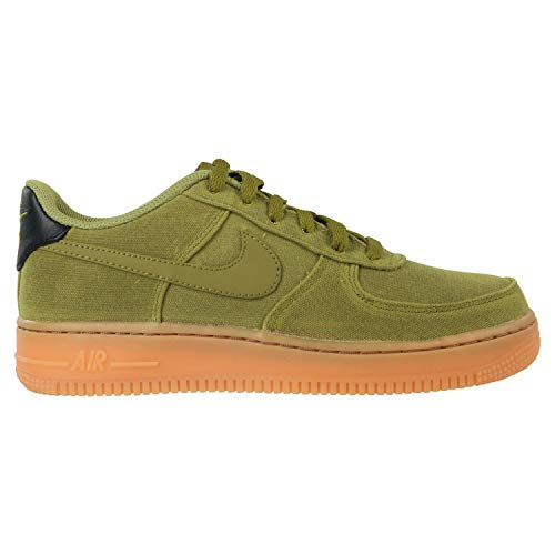 Nike Air Force 1 LV8 Style (GS), Zapatillas de Deporte para Niños, Multicolor (Camper Green/Camper Green/Gum Med Brown 300), 36 2/3 EU