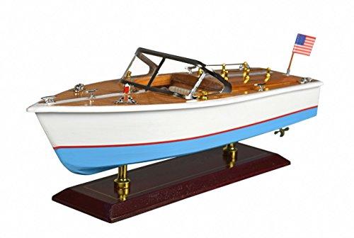 Navyline Holz Modellboot - Amerikanisches Speedboot
