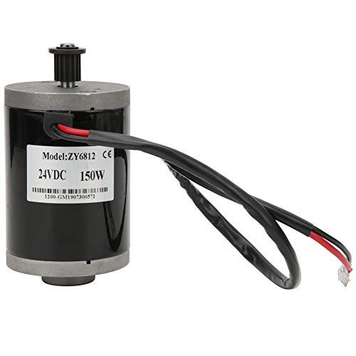 Keenso Mini Motore a Corrente Continua a Magnete Permanente 24V 150W, motoriduttore Elettrico ad Alta velocità a Basso Rumore per generatore Fai-da-Te