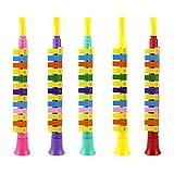 Knowooh Blasharmonika mit 13 Tönen Kinder Früherziehung Puzzle Spielzeug Musikinstrumente