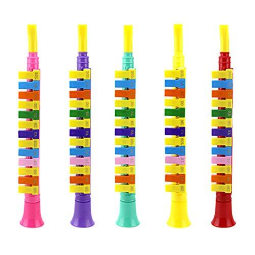 Knowooh Blasharmonika mit 13 Tönen Kinder Früherziehung Puzzle Spielzeug Musikinstrumente Spielzeug für Kinder und Anfänger