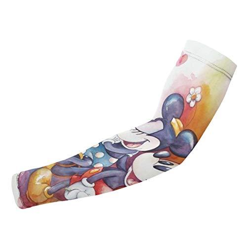 Meng Beasts Mickey Mouse Armmanschette – UV-Schutz kühlende Kompressionsstrümpfe für Damen und Herren
