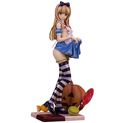 Bonmin Alphamax Skytube Alice Japanese Anime Figures Sexy Adult Toy Action Toy PVC Model Collection for Christmas/Birthday Gift