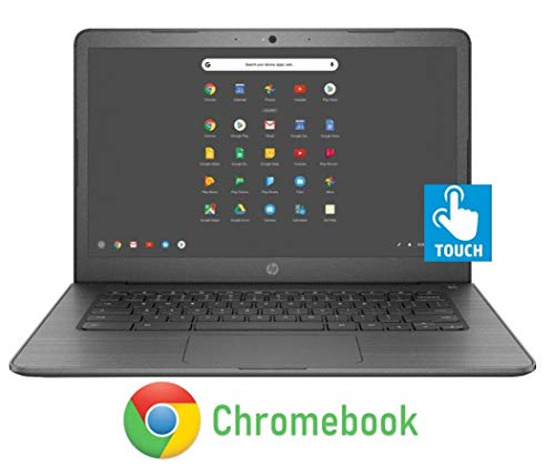 HP 14-inch Chromebook HD Touchscreen Laptop PC (Intel Celeron N3350 up to 2.4GHz, 4GB RAM, 32GB Flash Memory, WiFi, HD Camera, Bluetooth, Up to 10 hrs Battery Life, Chrome OS , Black)