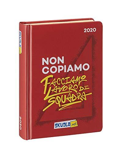SKUOLA.NET Terminplaner Datato 2019-20 Größe 12.5 x 17.5 cm circa Seiten italienische Sprache, Hardcover Kollektion Scuola 2019-20