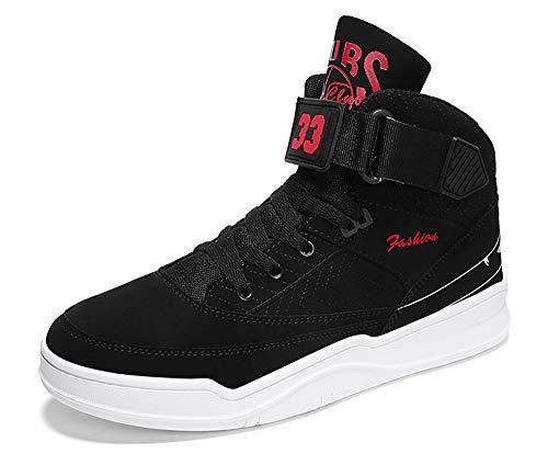 MUOU Zapatos de hombre de moda, zapatos planos, zapatos de tacón alto para el tiempo libre, color, talla 43 EU