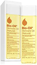 Bio-Oil Skincare Oil (Natural) for Scars and Stretchmarks with Organic Jojoba Oil and Vitamin E, Face and Skin Moisturizer, with Natural Rosehip Oil and Sunflower Oil, 6.7 Ounce, For All Skin Types