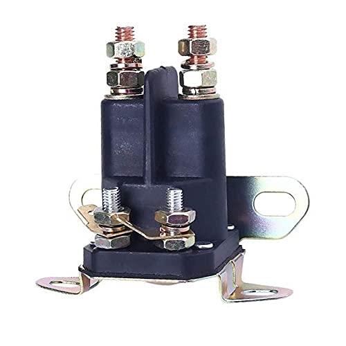 DealMux 4 polos UNIVERSAL 12 V Válvula solenoide de arranque para cortacésped y tractores del conductor 513075 104-3189 117-1197