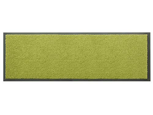 Primaflor - Ideen in Textil Küchenläufer Küchenvorleger Schmutzfangmatte Dancer - Grün, 60 x 180 cm, Küchenteppich Schmutzfangläufer