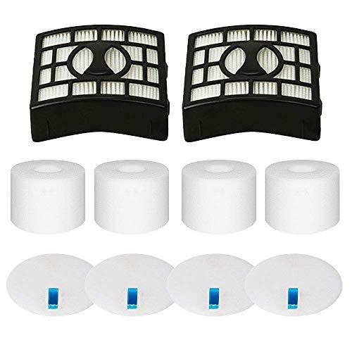 Eztronics Corp 4 Foam & Felt Filters and 2 HEPA Filter Kit for Shark Rotator Powered Lift-Away Speed&DuoClean Vacuum Cleaner NV680, NV681, NV682, NV683, NV800, NV801, NV803, UV810 ReplacesPart XHF680