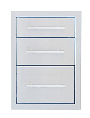 "SUNSTONE 18"" Beveled Frame Triple Drawer"