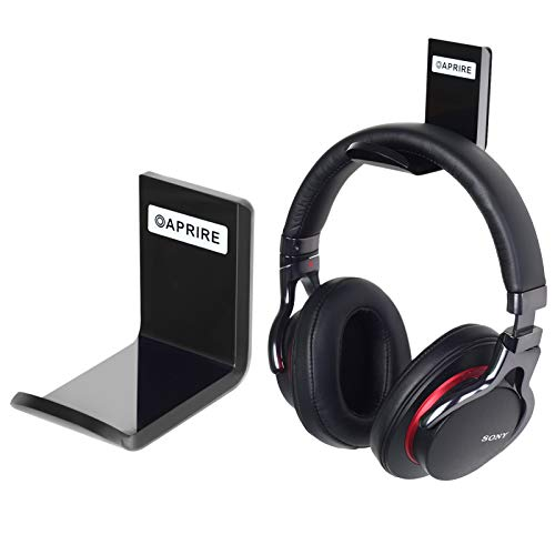 OAPRIRE シンプルスタイル ヘッドセット壁掛けラック 2個セット 壁掛けヘッドフォンホルダー 超強力3M粘着テープ 卓上スペース節約 ケーブル固定用フック付き Sony Audio-Technica Sennheiser bose akgなどのワイヤレスおよび有線ヘッドセットに適用 ホワイト