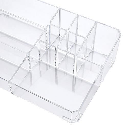 Ultra-hohe Kapazität Make-up-Organisator Büro Organizer Box Cosmetic Plastikaufbewahrungsbehälter...