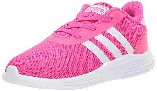 adidas Unisex-Child Lite Racer 2.0 I Sneaker, Pink, 8K M US Infant