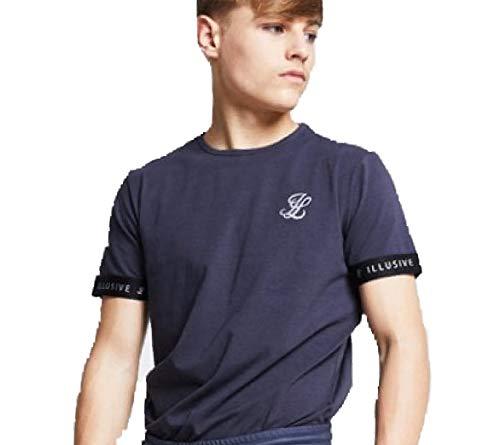 Siksilk Camiseta Manga Corta - Ilk 0371 Contrast Cuff tee NI/ÑO ILLUSIVE London
