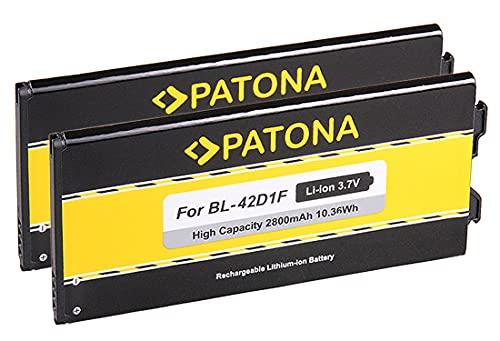 PATONA™ 2X Batteria BL-42D1F Compatibile con LG G5 H820 H830 H840 H850 H860 H868 G5 Lite LS992 RS988 VS987