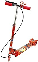 Raawan Kids 3 Wheel Foldable Scooter with Height Adjustment & Led Light on Wheel Multicolor