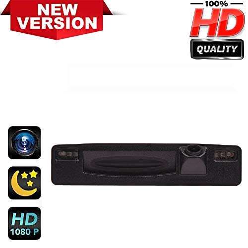 HD 1280x720p Retrocamera 170° Visione Notturna Impermeabile Telecamera posteriori retromarcia Fotocamera per Ford Escort Ford Focus 3 Hatchback CTCC Ecoboost 2015-2017