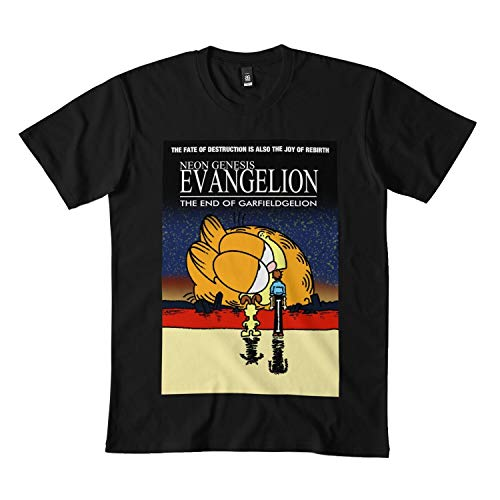Amazon Com Neon Genesis Evangelion Garfield Classic T Shirt Hoodie For Men Women Rd Clothing