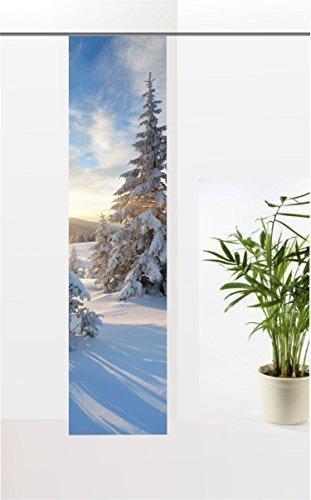 """gardinen-for-life Flächenvorhang Mein Traumwinter 1"""", Weihnachten Schiebevorhang mit Druck-Motiv, Gr.60x245 cm Tolles Motiv"""